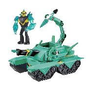 Ben 10 Veiculo - Tanque Do Diamante + Boneco Diamante