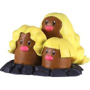 Pokemon - Dugtrio - Emc-35 Xy - Monster Collection - Takara Tomy