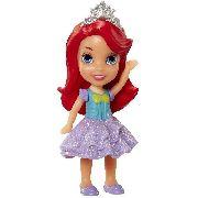 Mini Boneca - Princesas Da Disney - Ariel De Vestido - Sunny
