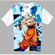 Camiseta Anime - Dragon Ball Super - Goku Migatte No Gokui