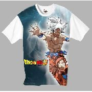 Camiseta Anime - Dragon Ball Super - Goku Instinto Superior