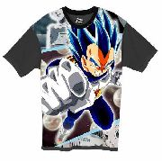 Camiseta Anime - Dragon Ball Super - Vegeta Blue