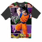 Camiseta Anime - Dragon Ball Super - Goku , Hitto E Jiren