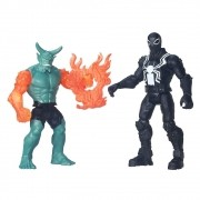 Bonecos Agent Venom Vs Green Goblin 15cm - Marvel - Hasbro