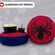 Almofada Kit Pipoca - Homem Aranha - Spiderman - Toybrink