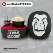 Almofada Kit Pipoca - Série La Casa de Papel - Toybrink