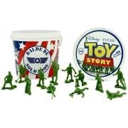 Balde 60 Soldados - Bonecos Toy Story - Disney Pixar Toyng
