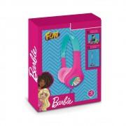 Barbie Fone de Ouvido Rosa Infantil Glamouroso - Fun Divirta
