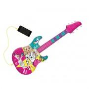 Barbie Guitarra Infantil Fabulosa com Função Mp3 - Fun