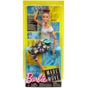 Boneca Barbie Made To Move - Morena - Mattel FTG80