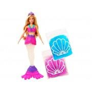 Boneca Barbie Sereia - Dreamtopia com Slime - Mattel GKT75