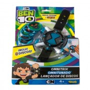 Ben 10 - Relógio Omnitrix Lançador de Discos Azul - Sunny