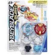 Beyblade Burst Pack com 2 - Roktavor R2 e Xcalius - Hasbro