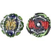 Beyblade Burst Rise - Hyper Sphere - Pack com 2 - Engaard E5 / Monster Ogre 05- Hasbro