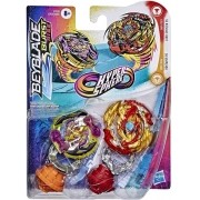 Beyblade Burst Rise - Hyper Sphere - Pack com 2 - Roktavor R5 / Lord Spryzen S5- Hasbro