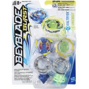 Beyblade Burst  - Valtryek e Unicrest - Pack com 2 - Hasbro