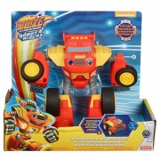 Blaze Transformação Robô Blaze Monster Machines Fisher-Price