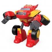 Blaze Transformação Robô Blaze Monster Machines Fisher-Price