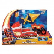 Blaze Turbo Lançador - Blaze Monster Machines - Fisher-Price