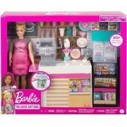 Boneca Barbie - Cafeteria Com Acessórios - Mattel GMW03