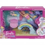Boneca Barbie Escola de Sereias Dreamtopia - Mattel FXT25