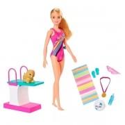Boneca Barbie Explorar e Descobrir Nadadora - Mattel GHK23