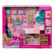 Boneca Barbie - Spa De Luxo com Diversos Acessórios - Mattel