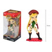 Boneca Cammy - Street Fighter 18cm - Knockouts Capcom