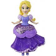 Boneca Mini Princesa Rapunzel - Royal Clips - Hasbro E3049