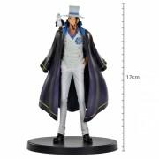 Boneco One Piece Rob Lucci 17cm The Grandline Men Banpresto