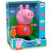 Boneca Peppa Pig com Atividades 24 cm -  Peppa Pig - Elka