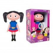 Boneca Show da  Luna 40cm - Fala e Canta - Brinquedo Estrela