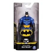 Boneco Batman 15 cm Battle Armor Azul - DC - Spin Master