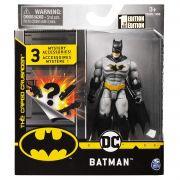Boneco Batman  - DC 3 Acessorios Misteriosos - Spin Master