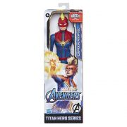 Boneco Captain Marvel Marvel Avengers Titan Hero Series