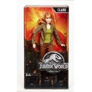 Boneca Claire 30cm Jurassic World Barbie Signature - Mattel