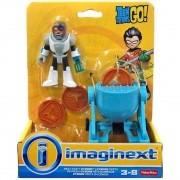Boneco Cyborg festa da pizza - Imaginext - Mattel - Toys