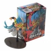 Boneco Dragon Ball Gogeta Super Sayajin Blue 17cm Banpresto