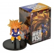 Boneco Dragon Ball - Gotenks Super Saiyan 3 - 10cm Banpresto