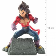 Boneco Dragon Ball - Vegeta S Saiyajin 4 - Diorama Banpresto