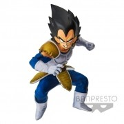 Boneco Dragon Ball - Vegeta 15cm - World Colosseum Banpresto