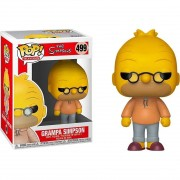 Boneco Funko Pop - Abe Grampa Simpson 499 - The Simpsons