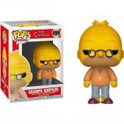 Boneco Funko Pop - Abe Grampa Simpson 499 - The Simpsons