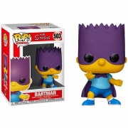 Boneco Funko Pop - Bartman 503 - Super Bart Simpson Original