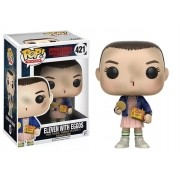 Boneco Funko Pop - Eleven With Eggos 421- Stranger Things
