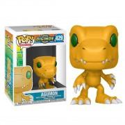 Boneco Funko Pop - Figura Agumon 429 - Digimon - Original