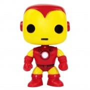 Boneco Funko Pop Iron Man 04 - Homem Ferro Clássico Marvel