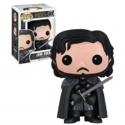 Boneco Funko Pop - Jon Snow 07 - Game Of Thrones - Original