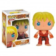 Boneco Funko Pop - Ken 138 - Street Fighter Game - Original