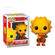 Boneco Funko Pop - Lisa Simpsons 497 - The Simpson Original